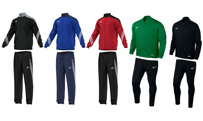 adidas trainingsanzug sereno 14 rot schwarz