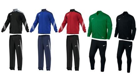 Nike Academy 16 oder Adidas Sereno 14 Polyester-Trainingsanzug für Kinder oder Erwachsene inkl. Versand (Frankfurt)