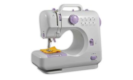 Máquina de coser Prixton P110 con regulador de tensión y pulsador de retroceso