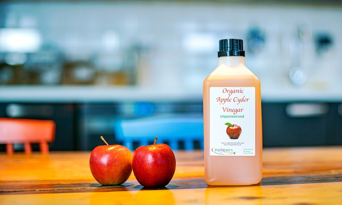 1L Organic Apple Cider Vinegar   Groupon