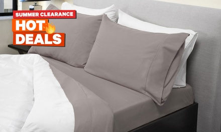 From $29 for a 1000TC Bamboo Blend Sheet Set in a Choice of Colour (Don't Pay up to $199)