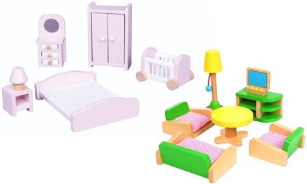 Lelin Wooden Room Sets