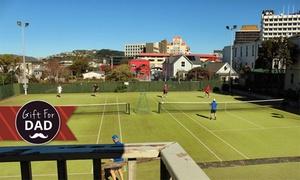 Thorndon Club: Tennis and Squash Club Membership: One ($15), Three ($49) or Six Months ($89) at Thorndon Club (Up to $210 Value)