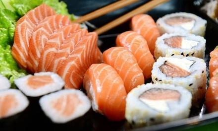 ⏰ Barca sushi con 50 o 60 pezzi
