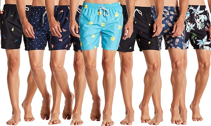 18c863d744 Visive Men's Swim Trunks with Drawstring and Elastic Waist (S-2XL)