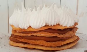 La Belle Dulce y Bistró: 1 o 2 tortas a elección en La Belle Dulce y Bistró