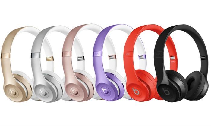 Beats Solo 3 Wireless Headphones Refurbished A Grade Groupon