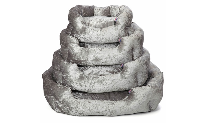 Bunty Bellagio Crushed Velvet Dog Bed (£13.98)