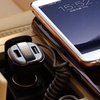 Trend Matters Sleek Fast Charging Dual-USB Car Charger