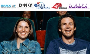 Australian Movie Voucher: $15.50 for an Australian Movie Voucher, Valid at over 50 Locations Nationwide