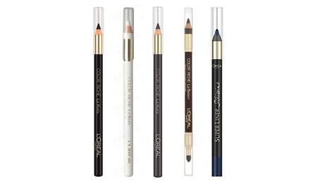 Five L'Oreal Eye Pencils