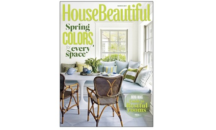 house beautiful subscription groupon goods