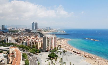 ✈ Barcelona: 24 Nights at a Choice of 4* Hotels with Flights*