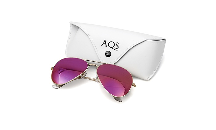 Groupon Goods Global GmbH: Occhiali da sole James by AQS. Vari colori disponibili a 39,89 € invece di 218