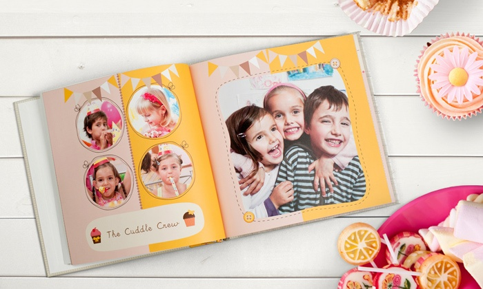 Photobook America: 40-Page Custom Photo Book from Photobook America (Up to 75% Off). Four Options Available.