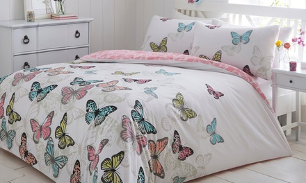 Pieridae Reversible Duvet Cover Set in Choice of Design