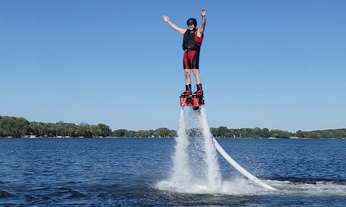 Just Add Water Flyboard - Multiple Locations: Flyboard Experience for One or Two at Just Add Water Flyboard (Up to 39% Off)