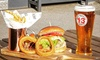 Burger and Beer for Two