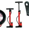 Stalwart Hand Bicycle Pump with Pressure Gauge
