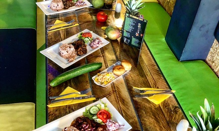 ThreeCourse Jamaican Meal for Two, Four or Six at The Caribbean Shack
