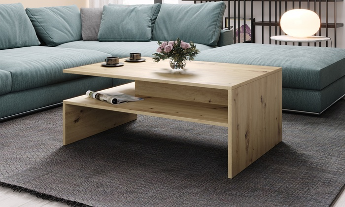 Coffee Table with Matte Finish in Choice of Colour