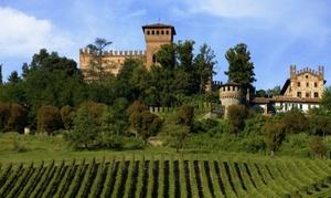Castello Di Gabiano: Tour delle cantine del castello di Gabiano del labirinto e degustazione di 3 vini con specialità dell'agriturismo