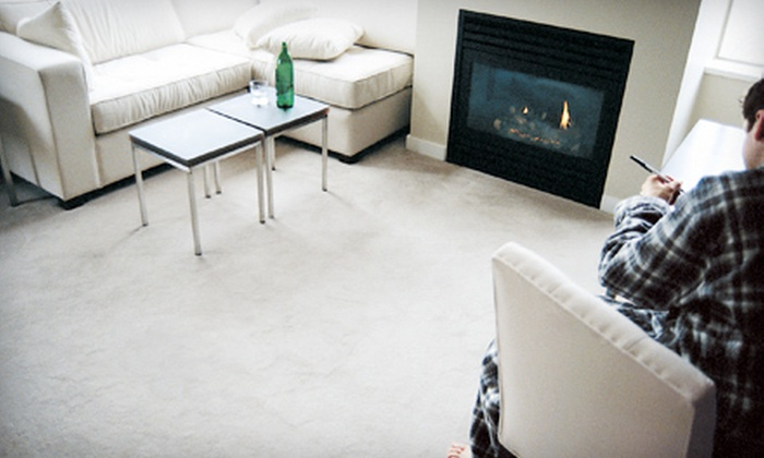 Delisle Extreme Steam - Palm Beach: Steam Cleaning for Three or Five Carpeted Rooms or One Sofa or Loveseat from Delisle Extreme Steam (Up to 69% Off)