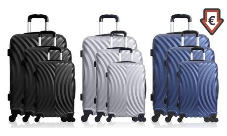 Set de 3 maletas Lagos