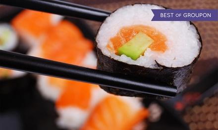 Sushiboxen met 24 stuks sushi bij Asia Fusion in de Jordaan