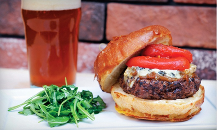Bacchus' Secret Cellar - Irvine: $16 for Gourmet Burgers and Drinks for Two for Lunch at Bacchus' Secret Cellar (Up to $36 Value)