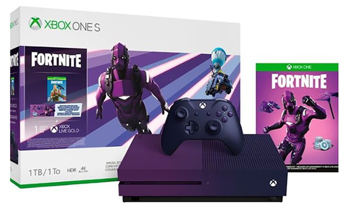 Xbox One S 1TB Fortnite Battle Royale Special Edition Console Bundle