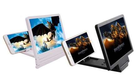 Pantalla amplificadora para móviles en disponible en blanco o negro por 9,90 € (67% de descuento)