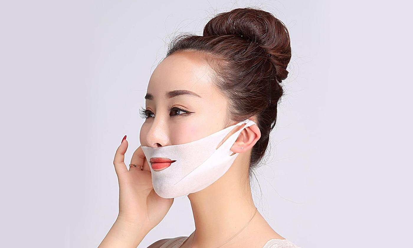 One, Two or Three V-Line Moisturising and Lifting Face Masks