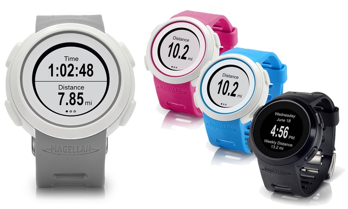 Magellan Echo Smart Sports Watch with Optional Heart Rate Monitor