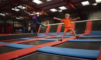 One-Hour Trampoline Jump Session for Up to Four at Jump Division (37% Off)