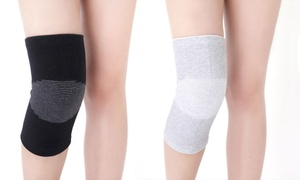 Bamboo Compression Pain-Relief Knee Brace (2-Pack)