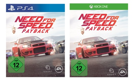 Electronic Arts Need for Speed Payback für XB1 oder PS4