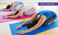 Hot or Unheated Yoga or Pilates: Six Classes of Choice at Fitness Fusions (77% Off)