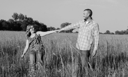 60-Minute Engagement Photo Shoot from Ashley Berggren Photography (70% Off)