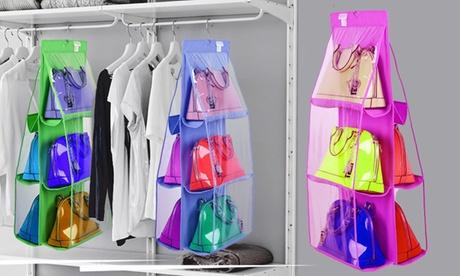Organizador de bolsos con percha