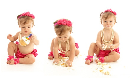 Baby's 1st Year Photo Six-Month or 1-Year Membership Package at Studio One To One (Up to 47% Off)
