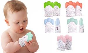 Mitaine de dentition pour bébés