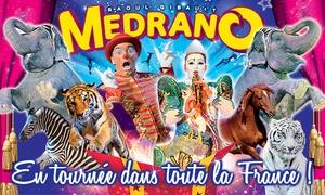 Cirque Medrano: 1 place en tribune d'honneur pour l'une des représentations du cirque Medrano à 10 €