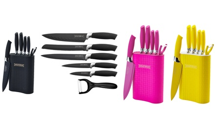 Six-Piece Knife Set with Stand