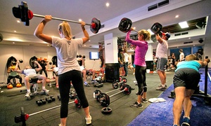 F45 Newtown: One-Month Unlimited F45 Group Training for One ($19) or Two People ($35) at F45 Newtown, Erskineville (Up to $528 Value)