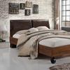 Brooke Rustic Industrial Style Platform Bed