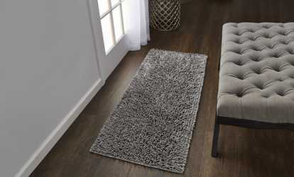 Shop Groupon Gala 2 Tone Chenille Microfiber Bath Rug. Multiple Sizes And  Options.