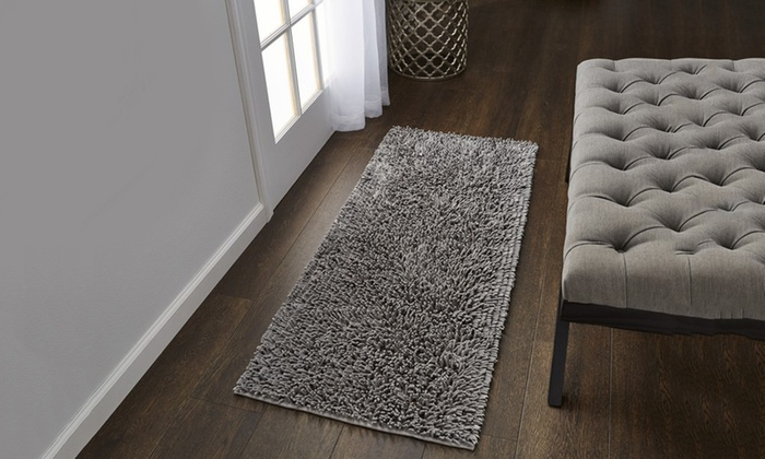 Up To 72 Off On 17 X24 Or 24 X60 Bath Rug Groupon Goods