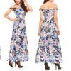 Women's Floral Print Maxi Dress.