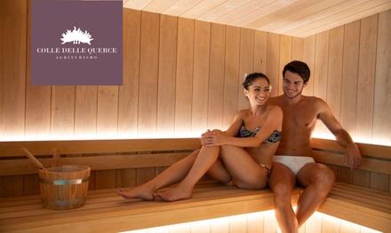 Percorso Spa di coppia e massaggio